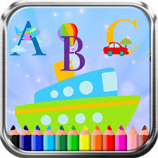 ABC Train Car Transportation Coloring Book Game Apps Apk Free Download For Android PC Windows