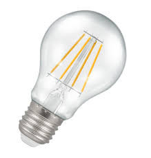 crompton 5w e27 dimmable led filament gls warm white light