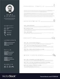 Minimalist Resume Cv Template With Nice Typography Cv Template Professional Curriculum Vitae Minimalist Design Ms Word Cover Letter 1 2 And 3 Page Simple Resume Instant Sample Format Awesome Impressive Resume Cv Mplate With Nice Typography Simple Design Vector Free Minimalistic Clean Ps Ai On Behance Alice In Indd Ai 15 Templates Sleek Minimal 4p Ocane Creative