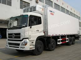 DongFeng 17 Ton 8*4 Refrigerated Van Truck Refrigerated Trailer ...