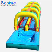Inflatable Pool Slide Water Slides For Adults And Kids