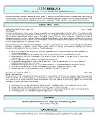 Retail Planner Resume Examples Feat To Prepare Cool Planning Samples 256 Packed With Buyer