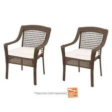 Stackable Outdoor Sling Chairs by Stackable Outdoor Dining Chairs Patio Chairs The Home Depot