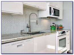 clear glass tile backsplash installation tiles home design