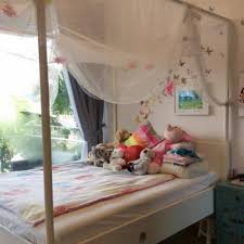 ikea edland four poster bed queen size for sale in cove way