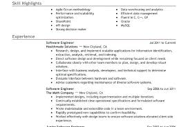 Software Resume Examples Best Engineer Example Within Professional Samples Template Developer 2016
