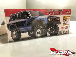 100 Scout Truck UNBOXING REDCAT RACING GEN 8 INTERNATIONAL SCOUT II Big Squid RC