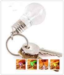personality creativity acrylic material colorful led bulb shape