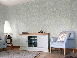 100 Pure Home Designs Fruit Grey Blue By Morris Wallpaper Brewers