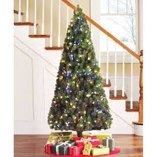 Holiday Time Pre Lit 6 5 Led Color Changing Artificial Christmas Inspiration Of Half Tree