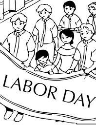 Labor Day Coloring Pages Activities 26