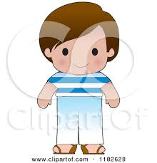 Boy Putting On Clothes Clipart Free