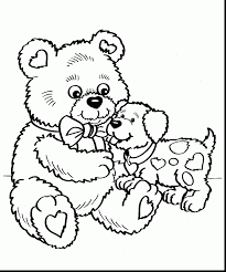 Incredible Valentines Day Coloring Pages For Kids With Adults And Free