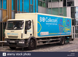 A Food Waste Collection Truck In London, UK, Which Will Take The ...