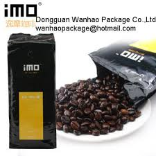 China Customized Coffee Bean Powder Stand Up Pouches For Food Packaging Supplier