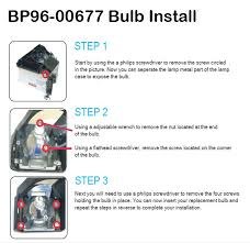 samsung tv dlp bulb and l installation guide ottawa
