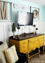 95 Ways To Hide Or Decorate Around The TV Electronics And Cords Remodelaholic