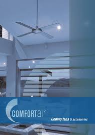 Ceiling Fan Humming Noise Dimmer Switch by Comfortair Ceiling Fans U0026 Accessories Catalogue By Lighting Plus