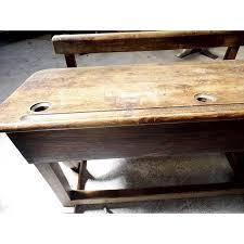 bureau ecolier en bois bureau pupitre d écolier en bois labraderie org