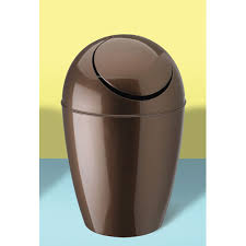 bathroom trash can bath can with lid bronze small stainless steel