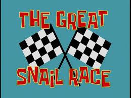 That Sinking Feeling Spongebob Transcript by The Great Snail Race Transcript Encyclopedia Spongebobia