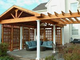 Free Standing Patio Roof Plans Home Design Ideas Collegeisnext