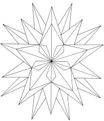 Printable Geometric Coloring Pages