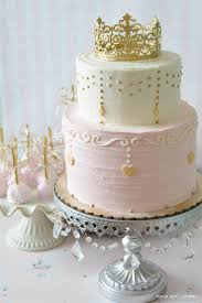Pink White And Gold Birthday Decorations by Best 25 Princess Birthday Cakes Ideas On Pinterest Birthday