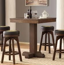 ECI Furniture Guinness Pub Game Table In Antique Walnut
