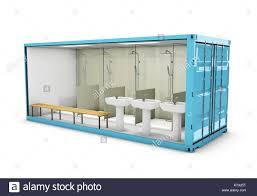 badezimmer konzept der wiederverwendung container 3d