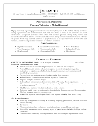 Pharmacist Resumes Sample Resume Example Pharmacy Technician Skills And Abilities