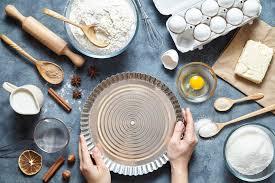 cuisson pate au four le processus de faire la pâte à tarte à la ingrédients de