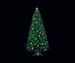 Fiber Optic Led Christmas Tree 7ft by Christmas