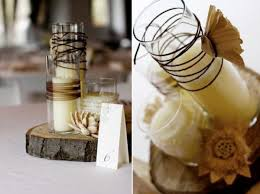 Awesome DIY Country Wedding Centerpieces Diy Rustic Once Wed