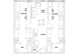 2 Bed 2 Bath d Bedroom Suite A The Summit at University
