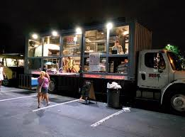 Next Level Food Truck: Pizza Parlor Inside A 35 Foot Storage Truck ...