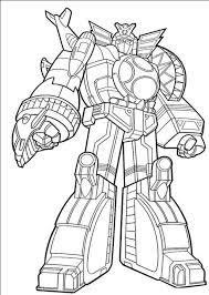 Power Ranger Megazord Coloring Pages 2