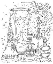 Magical Dawn Coloring Book Published In Sweden As Magisk Gryning Gsp