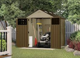 Suncast 7x7 Shed Accessories by Suncast 6x8 Everett Storage Shed Best Sheds 10 To Choose For