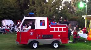 Mini Firetruck Eco-friendly, Available At 287-9548 - YouTube