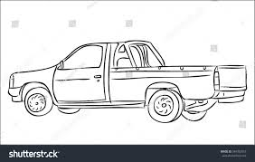 100 Truck Pick Up Lines Up On White Background Stock Vector Royalty Free
