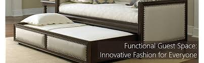 Pop Up Trundle Beds by Amazon Com Mission Complete Wood Daybed With Link Spring And