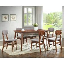 Dining Sets 7 Pieces Studio Piece Rectangular Table Set Modern Room