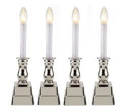 bethlehem lights set of 4 battery op window candles page 1