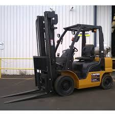 100 Nissan Lift Trucks 25T Used LPG Forklift PL02A25U United Equipment