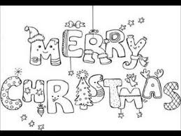 Printable Christmas Coloring Pages Colouring 12658 Regarding Merry Print