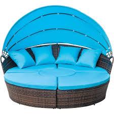 100 Retractable Patio Chairs FLIEKS Leisure Zone Outdoor Backyard Poolside Furniture Wicker