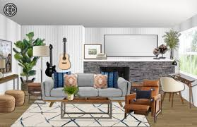 100 Midcentury Design Modern Living Room By Havenly Interior
