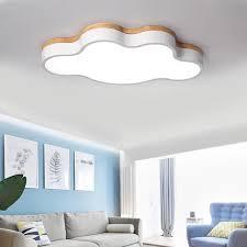 moderne led indoor cloud decke lichter leuchte kinder nette holz wohnzimmer schlafzimmer le dimmbare hause dekoration leuchte