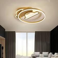 led deckenleuchte wolke design aus aluminium für esszimmer